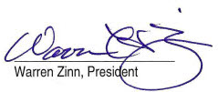 Warren Henry Signature